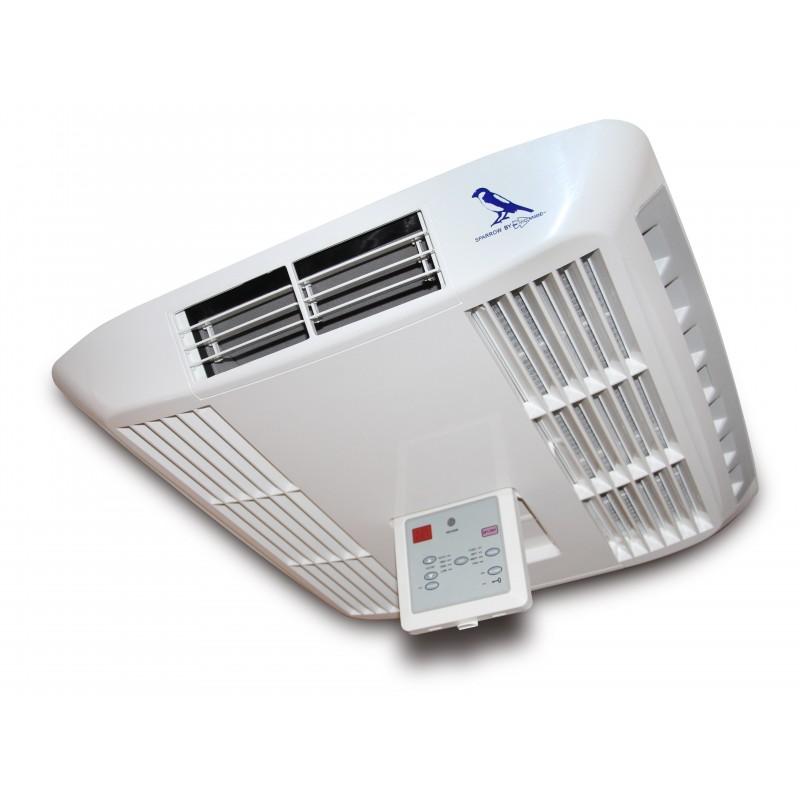 Aire acondicionado sparrow for Aire acondicionado autocaravana 12v