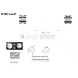 Kit Básico Suspensión Neumática Oria para Fiat 244