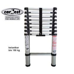 Escalera Aluminio Telescópica Carbest 2,6m