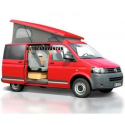 Techo para Volkswagen T5 Carrocería Corta - Trasero Alto
