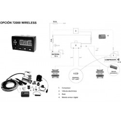 Kit Inal. Wireless - Mercedes 315
