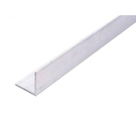 Perfil angular de aluminio