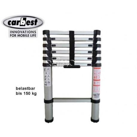 Escalera Aluminio Telescópica Carbest 2 m.