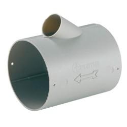 Unión tubo ø65 con salida ø22