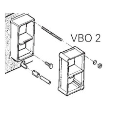 Extensión de chimenea de pared VBO 2 Truma