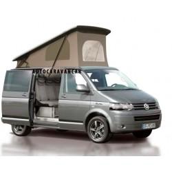 Techo para Volkswagen T5 Carrocería Larga - Cierre de cinta - Con conductos de Climatización